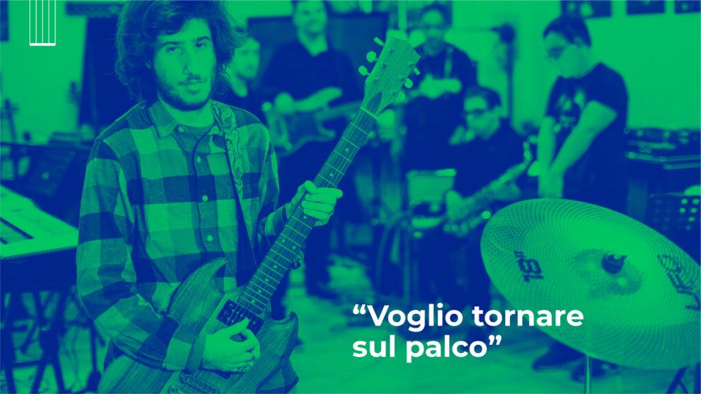 Paolo è il chitarrista della InBand