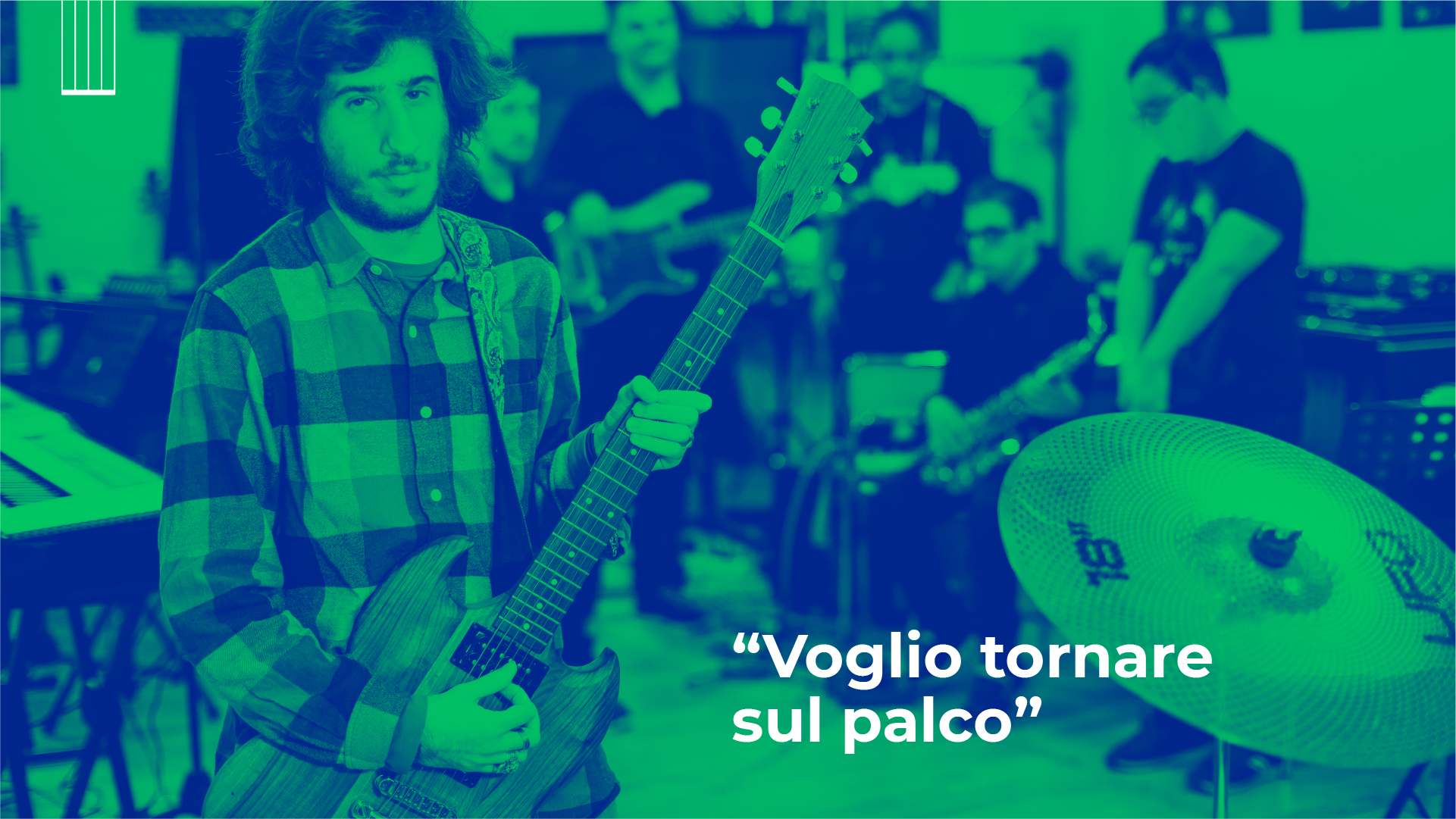 «Voglio tornare sul palco»: la storia di Paolo e della InBand di AllegroModerato
